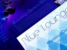Interface Design – Blue Lounge